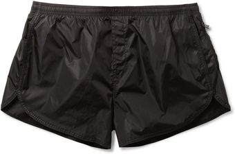 Neil Barrett Shortlength Swim Shorts - Lyst