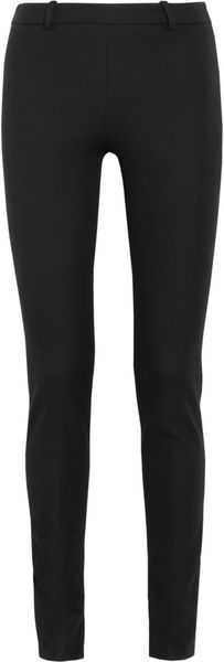 Roland Mouret Mortimer Stretch Cotton Twill Pants - Lyst
