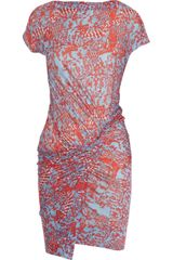 See By Chloé Printed Modal Dress - Lyst