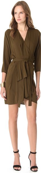 Thayer Wrap Dress - Lyst