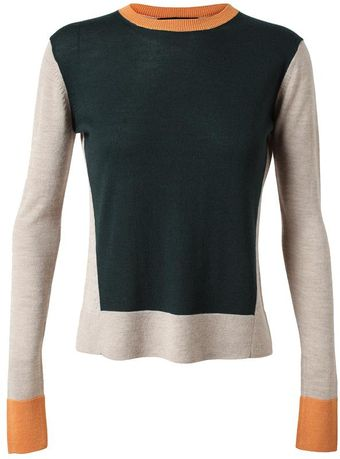 The Row Cashmere and Silk Jumper - Lyst