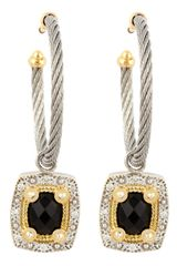 Charriol  Onyx Drop Earrings - Lyst