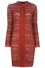 Jo No Fui Crochet Coat - Lyst