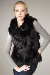 Jocelyn Roadie Fox Fur Vest - Lyst