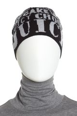 Juicy Couture Graffiti Skull Cap - Lyst