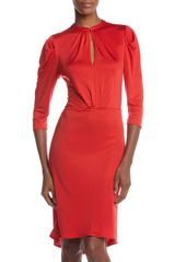 Rachel Roy Tuck Sleeve Dress - Lyst