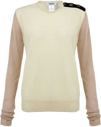 Sonia By Sonia Rykiel Colour Block Sweater - Lyst