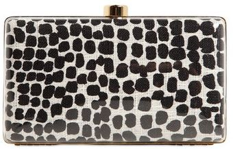 Stella McCartney Plexi Glass Printed Canvas Clutch - Lyst