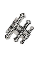 Topshop Multi Cross Wrap Ring - Lyst
