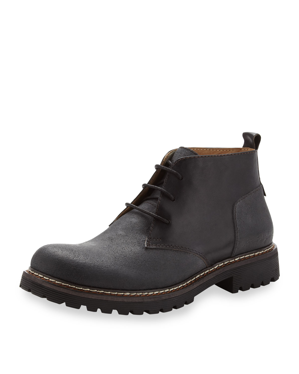 true religion krill laceup boot in black for null lyst