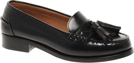 Whistles Gimlet Tassled Loafers in Black - Lyst