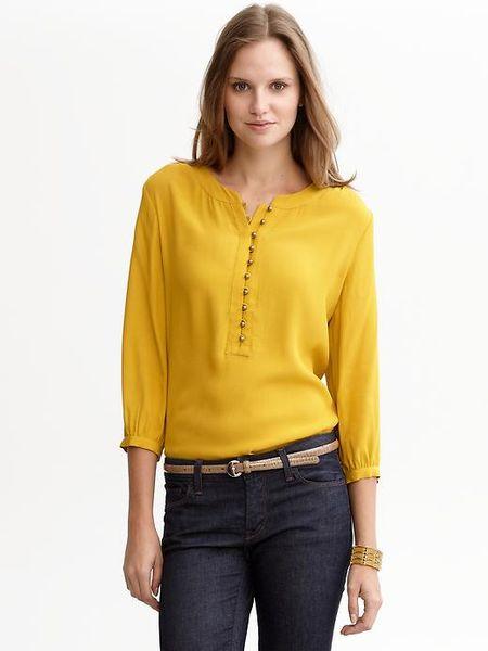 Yellow Mustard Blouse 75