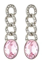 Kenneth Jay Lane Pave Linkdrop Crystal Earrings - Lyst