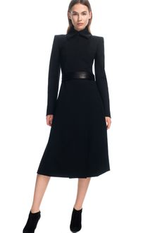 Narciso Rodriguez Stretch Wool Twill Coat - Lyst