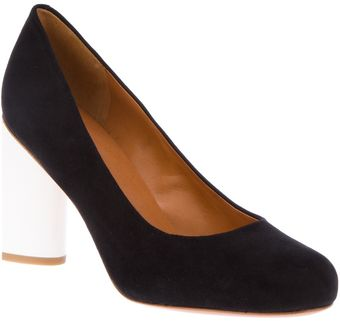 Marc By Marc Jacobs Contrast Heel Pump - Lyst