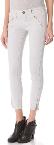 Current/Elliott The Moto Stiletto Jeans - Lyst