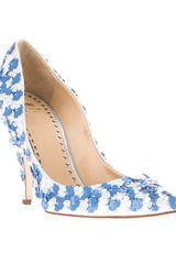 Moschino Cheap & Chic Sequin Embellished Pump - Lyst
