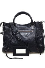 Balenciaga Velo Leather Bag - Lyst