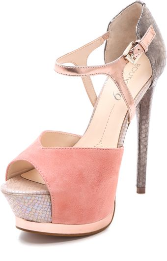 Boutique 9 Nerissa Open Toe Pumps - Lyst