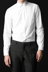 Burberry Prorsum Classic Fit Cotton Shirt - Lyst