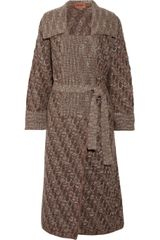 Missoni Distesa Long Length Wool-Blend Cardigan - Lyst