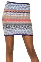 Missoni Stretch Lace Knit Skirt - Lyst