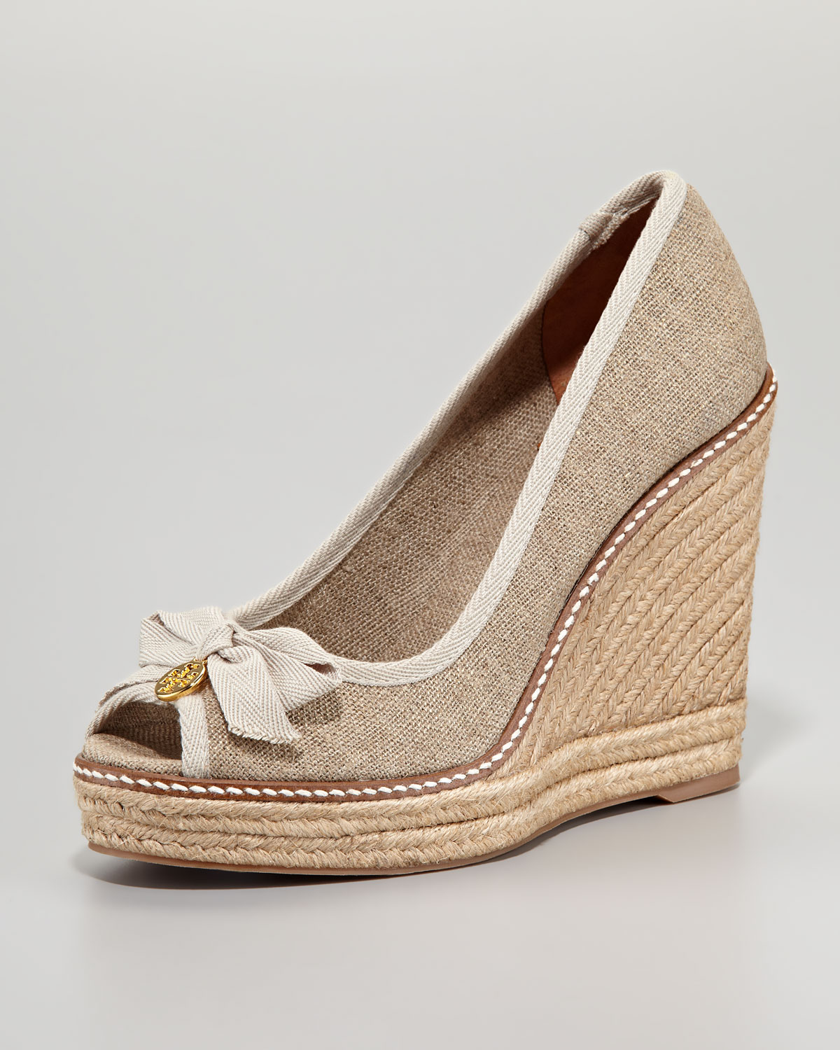 Gold Wedge Dress Shoes