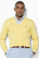 Polo Ralph Lauren V-neck Sweater - Lyst