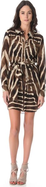 Haute Hippie Mans Shirt Dress - Lyst