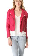 Iro Leather Jacket - Lyst