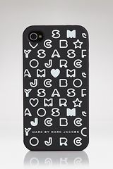 Marc By Marc Jacobs Iphone 4 Case 4g Stardust Logo - Lyst