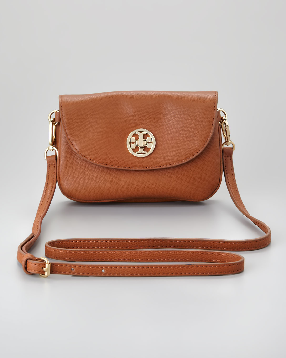 Tory Burch Robinson Double Gusset Crossbody Bag 25