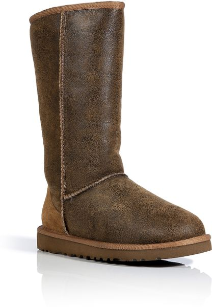 ugg boots classic tall chestnut