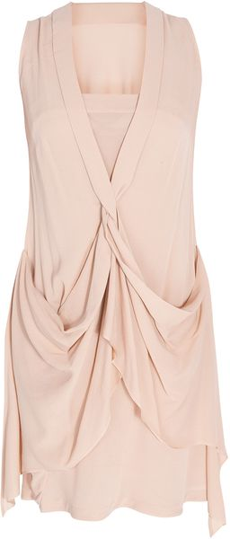 Willow Front Twist Dress - Lyst