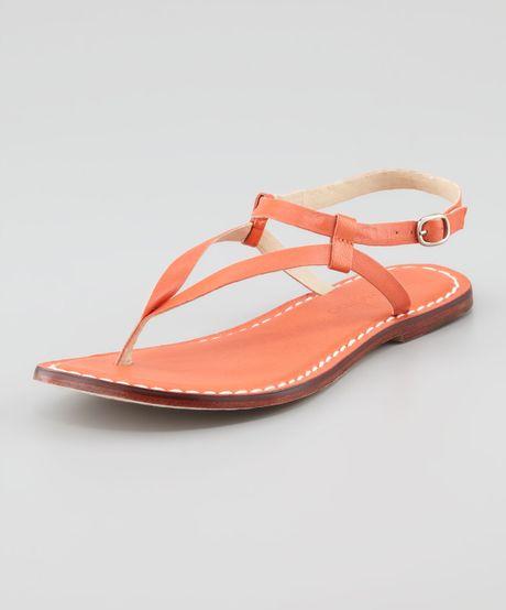 731ad775b90 Bernardo Merit Flat Sandal Orange in Orange