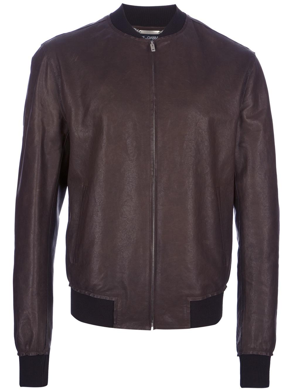 Light brown leather jacket men