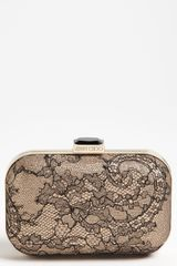 Jimmy Choo Cloud Lace Box Clutch - Lyst