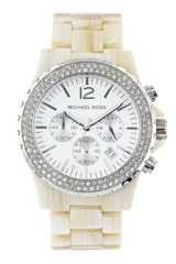 Michael Kors Madison Chronograph Watch - Lyst