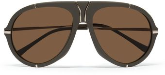 Yves Saint Laurent Matteacetate Aviator Sunglasses - Lyst