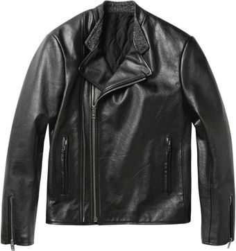 Balenciaga Perfecto Slimfit Leather Biker Jacket - Lyst