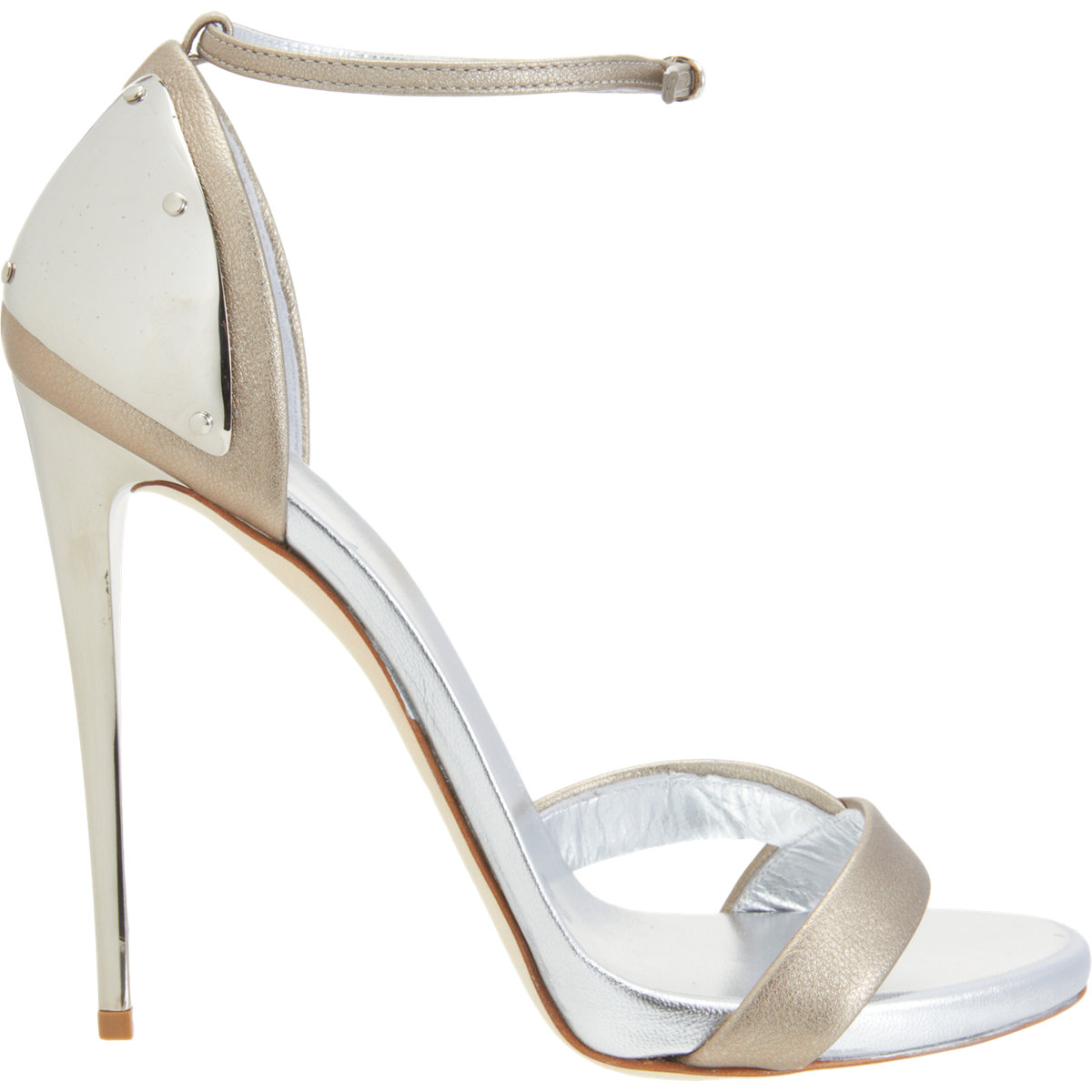 Sandal Heels Silver