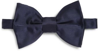 Lanvin New Alber Oversized Silk Bow Tie - Lyst