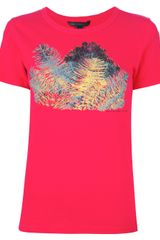 Marc By Marc Jacobs Printed Tshirt - Lyst