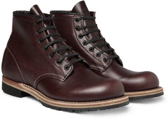 Red Wing Beckman Leather Boots - Lyst