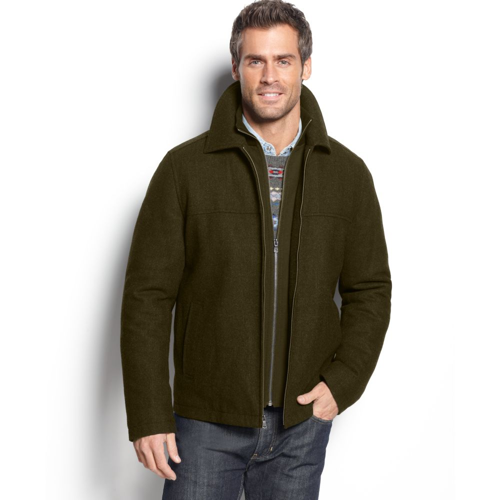 eac638d0f9d Tommy Hilfiger Bomber With Bib Zip Front Jacket In Green For Men