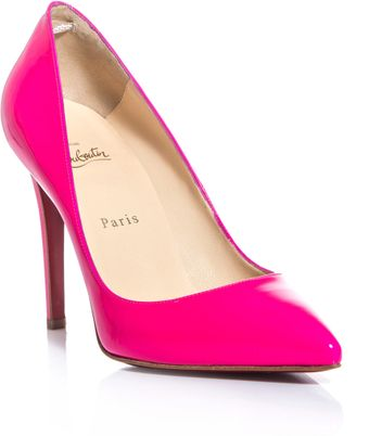 Christian Louboutin Pigalle 100mm Pumps - Lyst