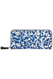 Diane Von Furstenberg Zip Around Purse - Lyst