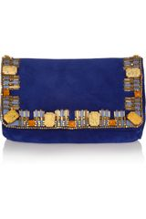 Matthew Williamson Poppy Small Embellished Clutch - Lyst