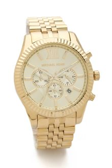 Michael Kors Mens Oversized Lexington Watch - Lyst