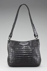 Nancy Gonzalez Crocodile Bucket Messenger Bag - Lyst